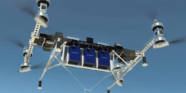 Boeing : un drone capable de transporter une charge de 225 kg