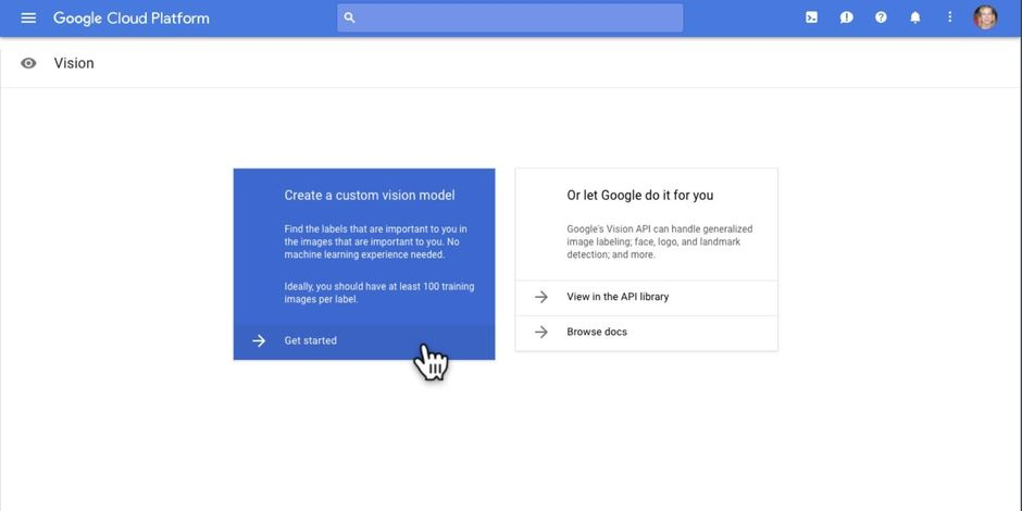 Google étend l'apprentissage machine à sa plate-forme Cloud