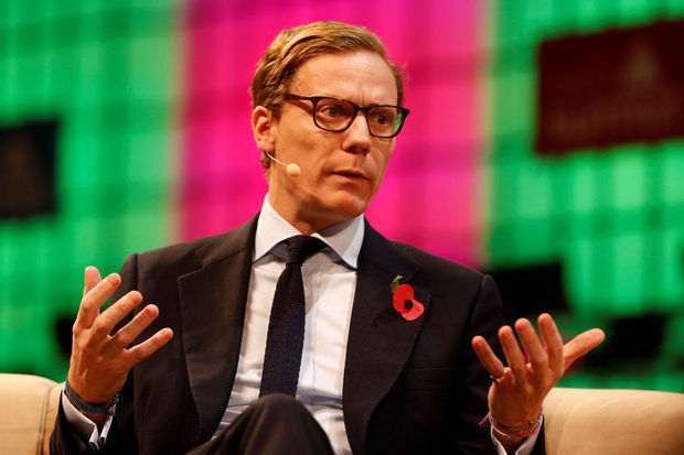 Alexander Nix, le CEO de Cambridge Analytica