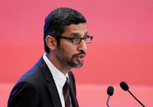 Le CEO de Google Inc., Sundar Pichai, REUTERS
