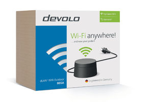 Test du devolo WiFi Outdoor-adapter: Le wifi par tous les temps