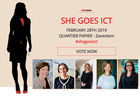Qui sera l'ICT Woman et la Young ICT Lady of the Year? Votez maintenant!