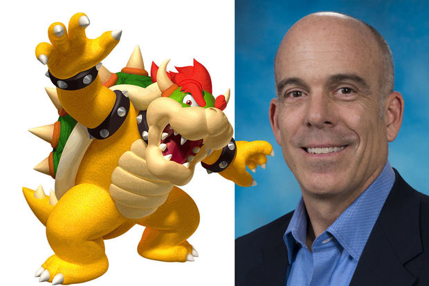 Bowser prend la direction de Nintendo