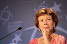 "Neelie Kroes à propos des femmes dans l'ICT: ""Don't take no for an answer"""