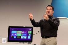 Premier regard sur l'interface de Windows 8