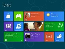 Windows 8 de Microsoft en test