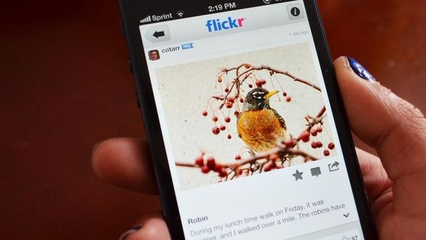L'appli photos Flickr va accepter les 'hashtags'