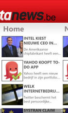 Data News sur Windows phone