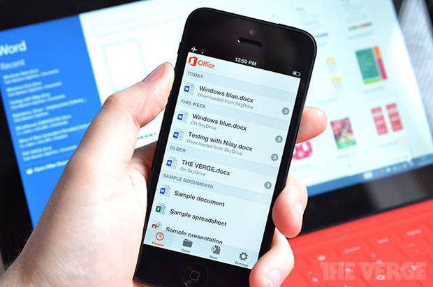 Microsoft porte Office sur l'iPhone