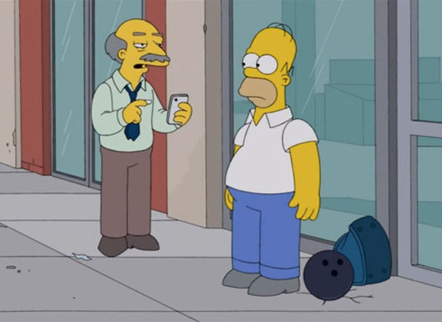 Les Simpson se moquent d'Apple