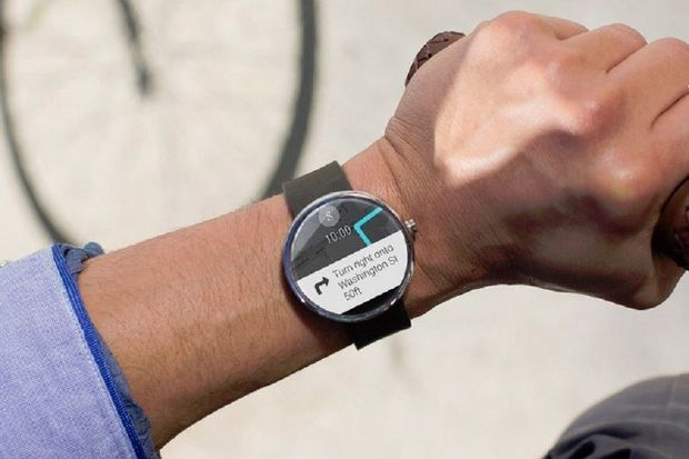 VIDEO: voici la montre intelligente de Google