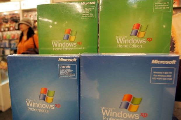 La fin de Windows XP freine la chute des ventes de PC