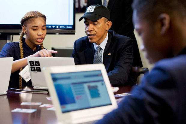 VIDEO: Comment Obama apprend à programmer