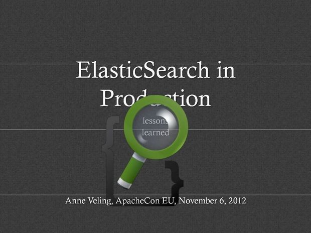 ElasticSearch : l'analyse de big data en open source