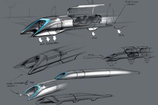 SpaceX va créer un circuit de test pour l'Hyperloop