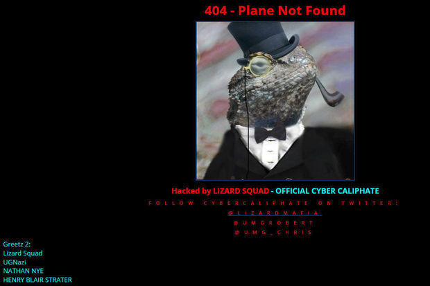 Le site web de Malaysia Airlines piraté: message d'erreur 404 'avion introuvable'