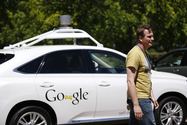 Google: '11 accidents avec des voitures sans conducteur en six ans'