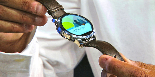 Fossil lance une montre intelligente Android Wear., .