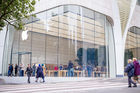 Apple Store de Bruxelles: les photos