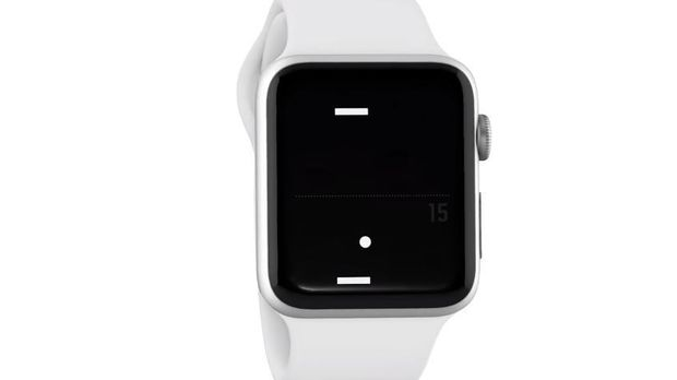 'Pong' arrive sur l'Apple Watch