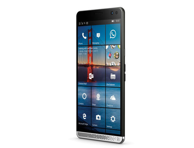 HP lance un smartphone Windows 10 hybride