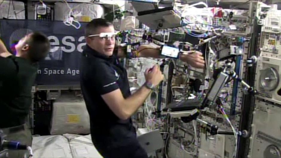 Space Applications et LG introduisent le smartphone dans l'ISS