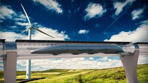 Le CEO d'Hyperloop: 'Le train est un dinosaure'