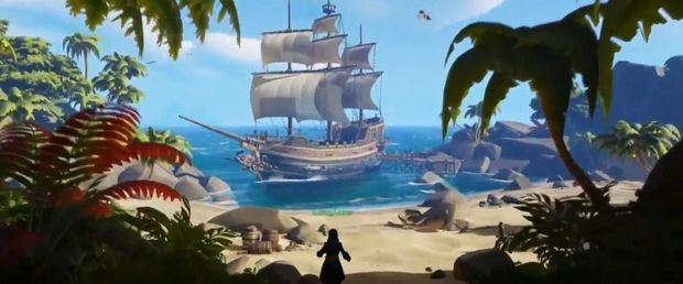 Sea of Thieves, le jeu de pirates multijoueur du développeur Rare , .