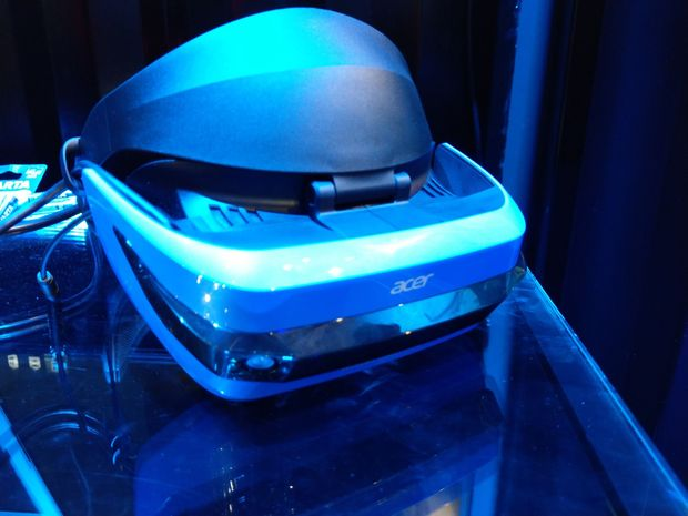 Acer mixed reality headset.